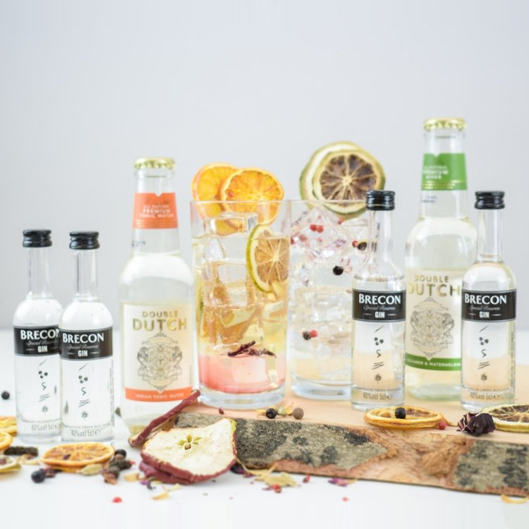 Welsh Brecon Special Reserve Gin & Tonic Gift Set