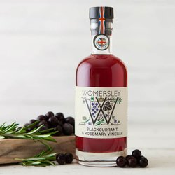 Blackcurrant & Rosemary Vinegar 250ml (For Roasts, Meats & Salads)