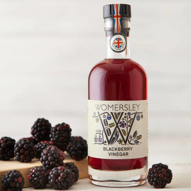 Blackberry Vinegar 250ml (For Meats, Stews, Sauces & Desserts)
