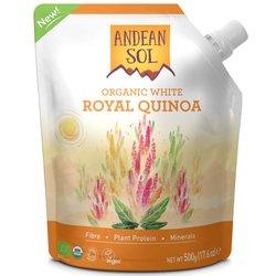 Organic White Royal Quinoa Pouch 500g