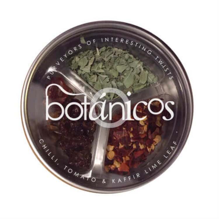 Chilli, Tomato & Kaffir Lime Leaf Botanical Drink Infusion Blend 5g (For Gin, Bloody Marys & Soft Drinks)