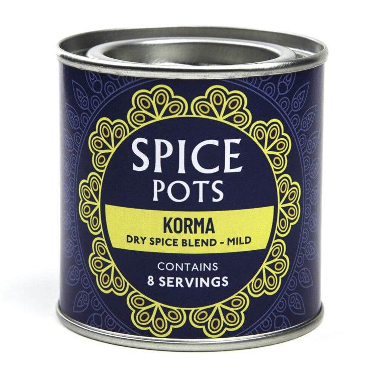 Mild Korma Curry Dry Spice Blend Pot 40g