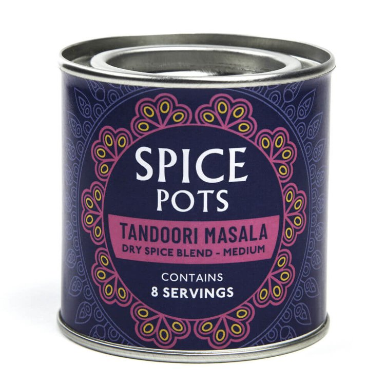 Medium Tandoori Masala Dry Spice Blend Pot 40g