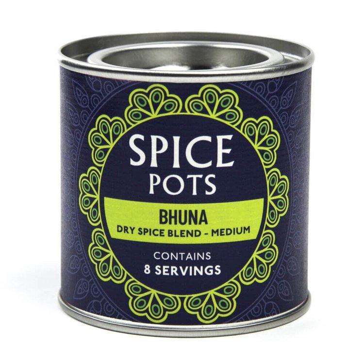 Medium Bhuna Curry Dry Spice Blend Pot 40g