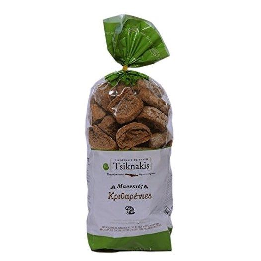 Organic Mini Barley Wholemeal Greek Rusks 400g
