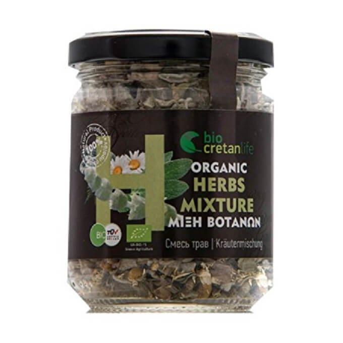 Organic Greek Herbal Tea Blend Inc. Dittany, Chamomile & Sage 18g