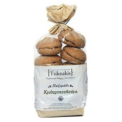 Mini Barley Wholemeal Greek Rusk Rolls 400g