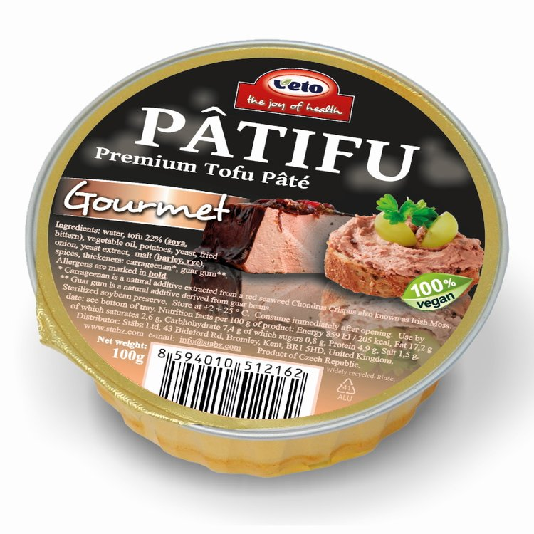 Gourmet Premium Tofu Pâté 100g (Vegan)