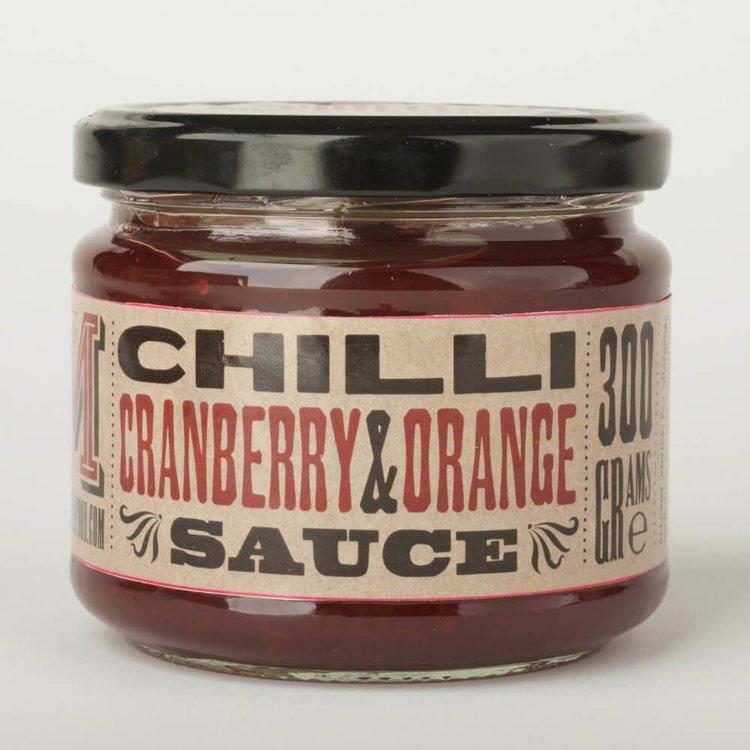 Chilli, Cranberry & Orange Sauce 300g