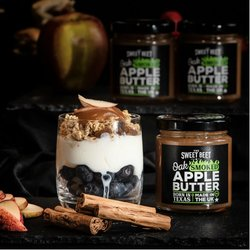 Oak Smoked Apple Butter (Vegan) 185g (For Seafood, Cocktails, Porridge & Cheese)