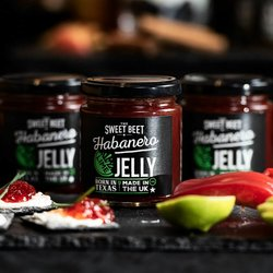 Habanero Chilli & Lime Jelly 240g (For Fish, Seafood, Dips & Cheese)