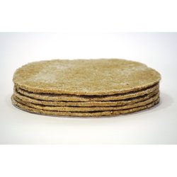 "5 x Organic Buckwheat 10"" Pizza Bases (Gluten Free, With Buckwheat, Rice & Olive Oil)"