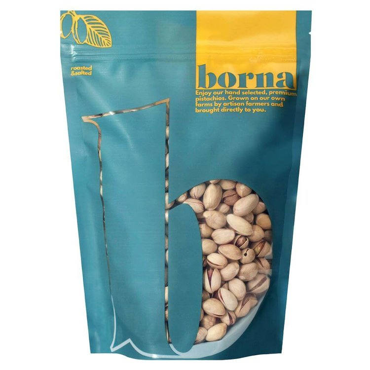 500g Roasted & Salted Pistachio Premium Nuts