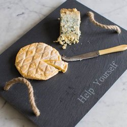 Slate Cheeseboard with Rope Handles
