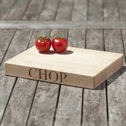 'Chop' Beech Wood Chopping Board