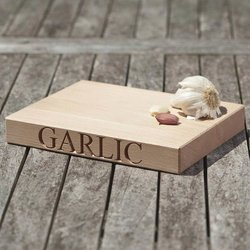 'Garlic' Beech Wood Chopping Board