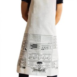 Barbecue Cooking Guide Cotton Apron