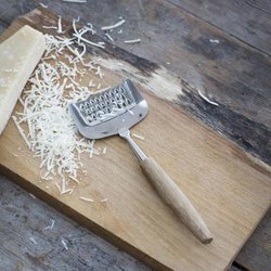 Stainless Steel Parmesan Cheese Grater in Gift Box