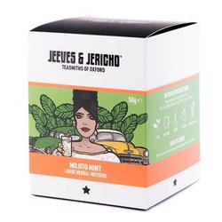 Mojito Mint' Loose Herbal Peppermint Infusion Tea Blend 50g