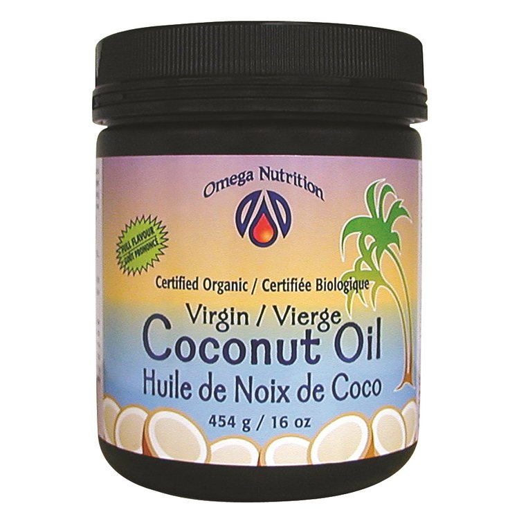 Organic Full-Flavoured Virgin Coconut Oil 454g