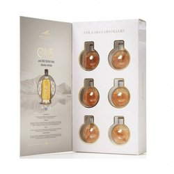 Six British Blended Whisky Baubles Gift Set by The Lakes Distillery (6 x 5cl)