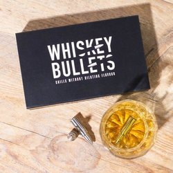 Stainless Steel Whiskey Bullets Drinks Chillers Gift Set