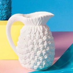 White Porcelain Pineapple Jug