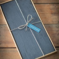Set of 2 Serving Slate Placemats (18cm x 40cm)