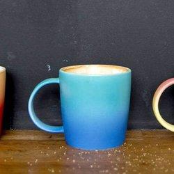 Aurora Blue Ombré Effect Mug