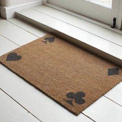 Large Solitaire Coir Doormat