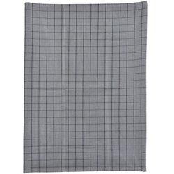 Grey Chequered Kitchen Tea Towel