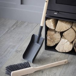 Fireside Dustpan & Brush Set