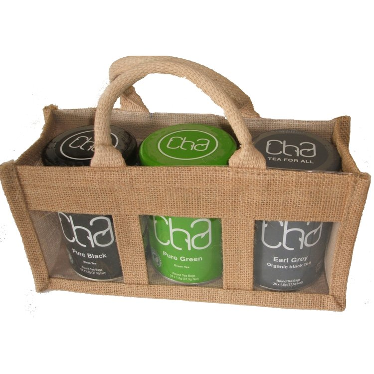 Organic Cha Tea Trio Gift Set 1
