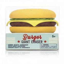 Giant Burger Eraser