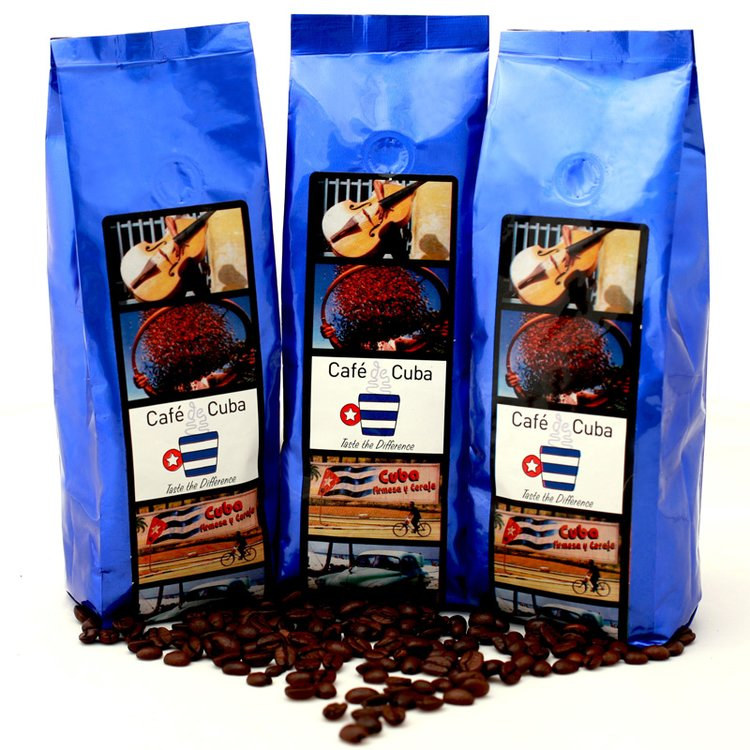 Santiago Roasted Bean Coffee Set 3 x 250g
