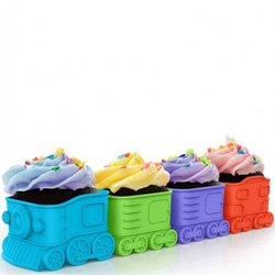 Express Train Cupcake Baking Mould