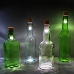 Rechargeable Cork Bottle Light