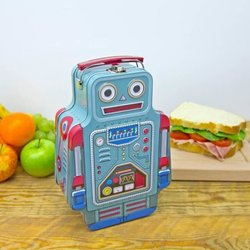 Robot Retro Lunch Box