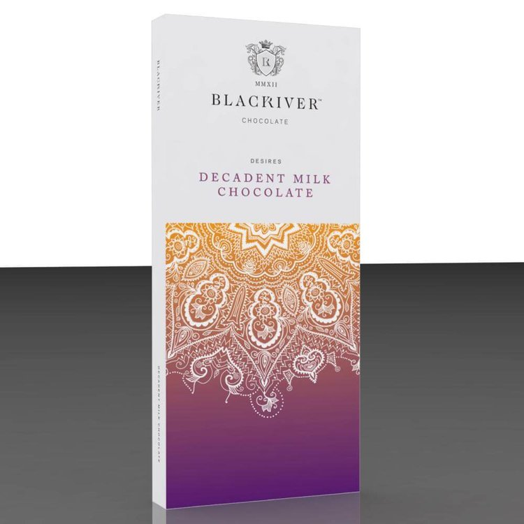 3 x Decadent Milk Chocolate Bar 100g