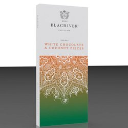 3 x White Chocolate & Coconut Pieces Bar 100g