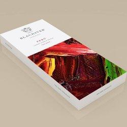 3 x 72% Dark Peru Luxury Single Origin Chocolate Bar 100g