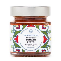 Sun Dried Tomato Pesto with Extra Virgin Olive Oil 290g - Handmade