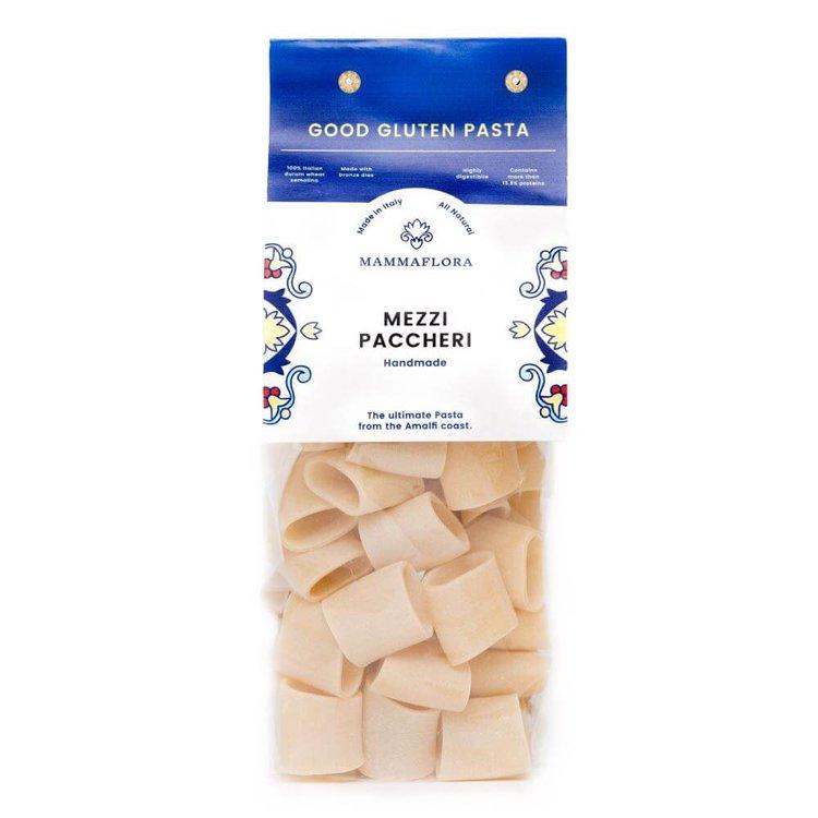 Mezzi Paccheri Handmade Italian Gragnano Durum Wheat Pasta 500g