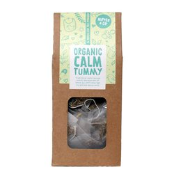 Organic 'Calm Tummy' Herbal Tea for Colic Babies & Nursing Mothers 16 Tea Bags (Caffeine Free)