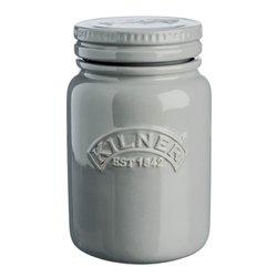Morning Mist Kilner Push Top Ceramic Storage Jar
