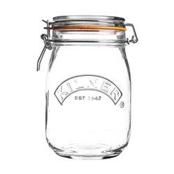 Kilner Round Clip Top Storage Jar 1 Litre
