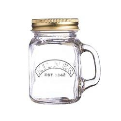 Kilner Mini Glass Jar with Handle & Lid 140ml