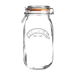 2 Litre Kilner Round Clip Top Glass Storage Jar