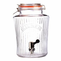 Kilner Vintage Glass Drinks Dispenser 8 Litre