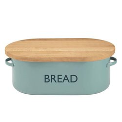 Typhoon Vintage Kitchen Blue Bread Storage Bin